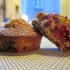 Raspberry-Chocolate-Coconut Muffins